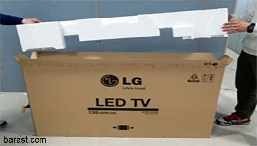 طریقه صحیح نحوه حمل تلویزیون ال ای دی و ال سی دی - باربری درست تلویزیون - نکات
